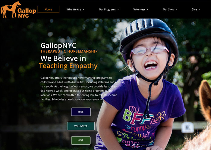 GallopNYC New Website Launch!